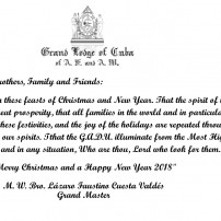 (20171211) Greeting cards from Cuba for Christmas and New Year