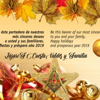 (20181211) Greeting card from the GL AF&AM of Cuba