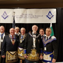 (20190619-22) ВGL AF&AM of Bulgaria at ritual work and Annual Communication of GL of British Columbia and Yukon, Canada (+GAL)