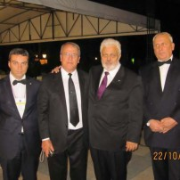 (20111022) Visit of the SC33AASR of Bulgaria to Asunsion, Paraguay and receipt of Recognition for the GL AF&AM in Bulgaria from the GL of the State of Rio Grande do Sul, Brazil