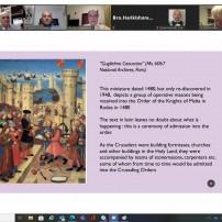 (20201012) Виртуален орден Sapere Aude: Развитието в 18 в на степените в СПШР, НВУ Бр. Жак Хюберт