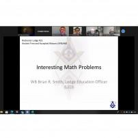 (20201007) ВЛ на Минесота: ложа Рочестър 21: Интересни математически проблеми, лектор Браян Смит