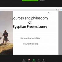 (20201028) Виртуален орден Sapere Aude: Източници и философия на египетското масонство, Бр Жан-Луи де Биази