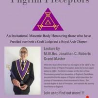 (20201027) UGL England: Masonic Order of Pilgrim Preceptors: M.Ill.Bro. Jonathan C. Roberts, Grand Master