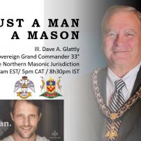 """(20201102) ВЛ на Южна Африка: МП Бр Дейв А. Глатли: """"Не просто мъж, а Масон"""""""