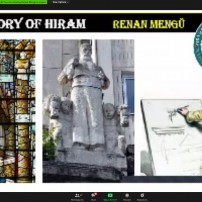 (20201109) Виртуален орден Sapere Aude: Sapere Aude 109: Бр. Ренан Менгу: История за Хирам