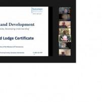 (20201117) ОВЛ Англия: ложа Соломон: Ползване на solomon.ugle.org.uk: Сертификат на Великата ложа и викторина