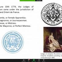 (20201031) ОВЛ Англия: ложа Уилбърфорс: Жените в масонството