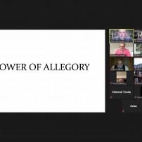 (20201217) Виртуален орден Sapere Aude: ОВЛА, Великия Младши Дякон, Бр Юлиан Рийс: Силата на алегорията