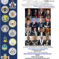 COMING SOON: Jan 31, 2021: The 10th International Masonic Town Hall