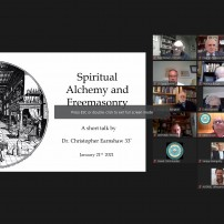 (20210121) Virtual order Sapere Aude: RW Dr. Christopher Earnshaw: Spiritual Alchemy