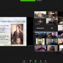 (20210125) Виртуален орден Sapere Aude 137: ВЛ Шотландия: МВУ Бр Боб Купър: Робърт Бърнс