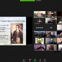 (20210125) Virtual order Sapere Aude 137: GL Scotland RW Bro Bob Cooper: Robert Burns